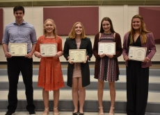 12th Grade School Board Scholars