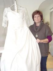 Deb Dose is refocusing Fashion Statement, the wedding alterations business she operates out of her Lake City home.